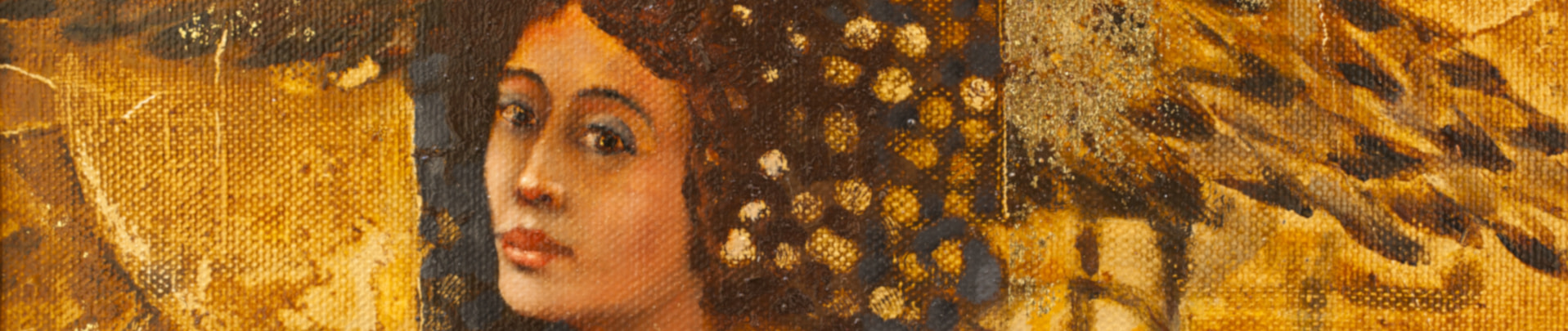 Klimt style wall art canvas and paper prints