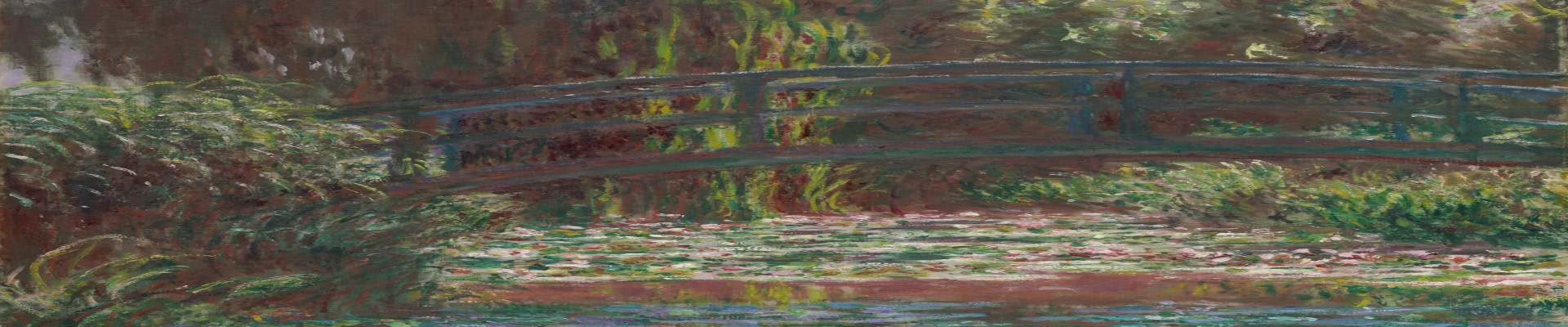 Monet style wall art canvas and paper prints
