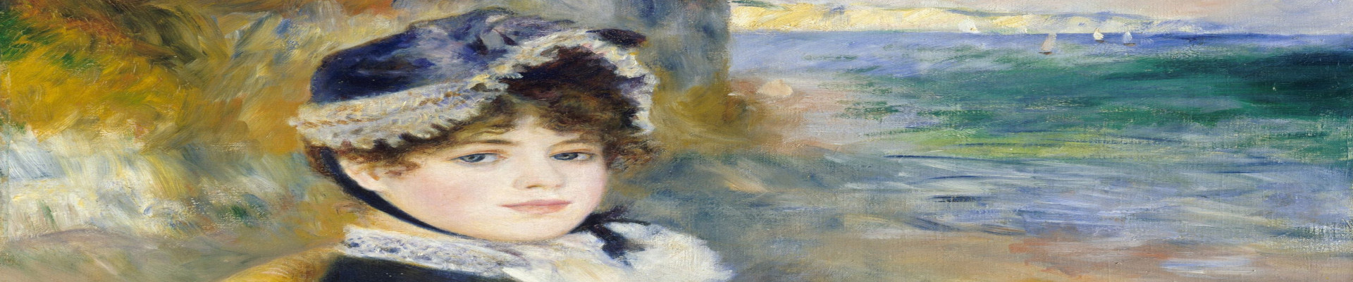 Renoir style wall art canvas and paper prints