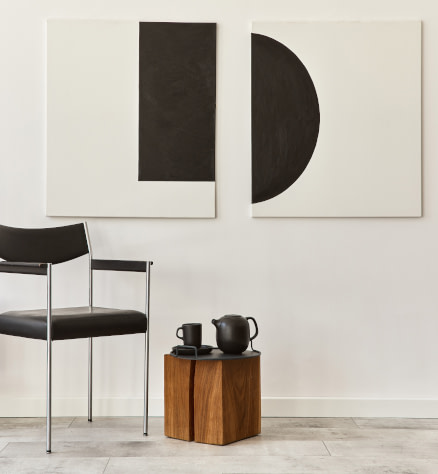 Minimal style canvas and paper wall art prints