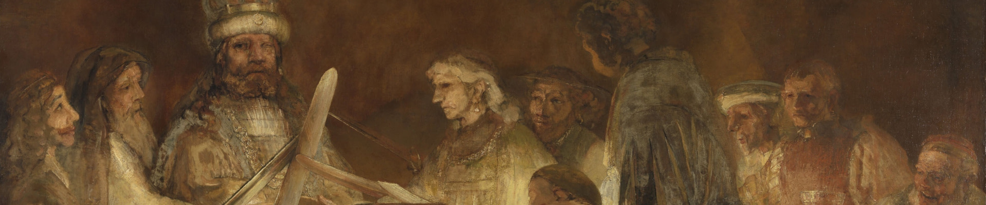 Rembrandt style wall art canvas and paper prints