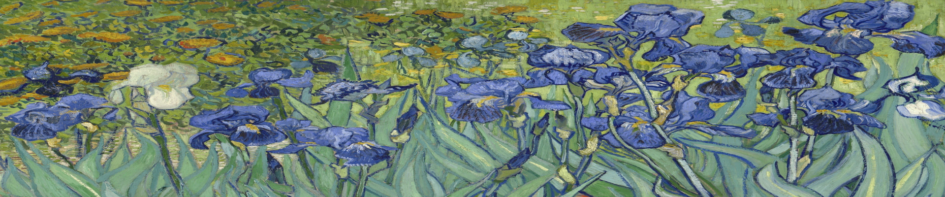 Van Gogh style wall art canvas and paper prints